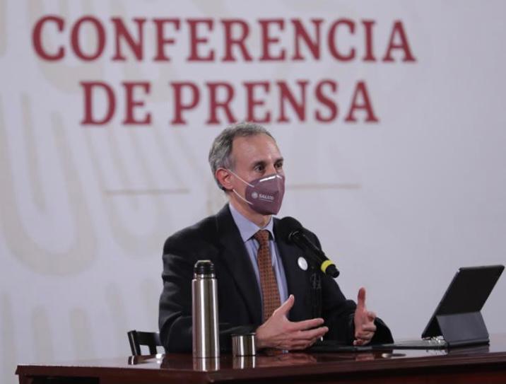 Hugo Lopez Gatell Ramirez subsecretario de Prevencion y Promocion de la Salud.