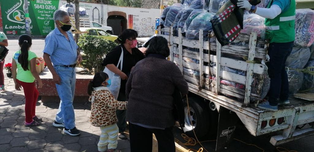 Protege Gobierno de la Ciudad de Mexico a poblacion vulnerable durante temporada invernal