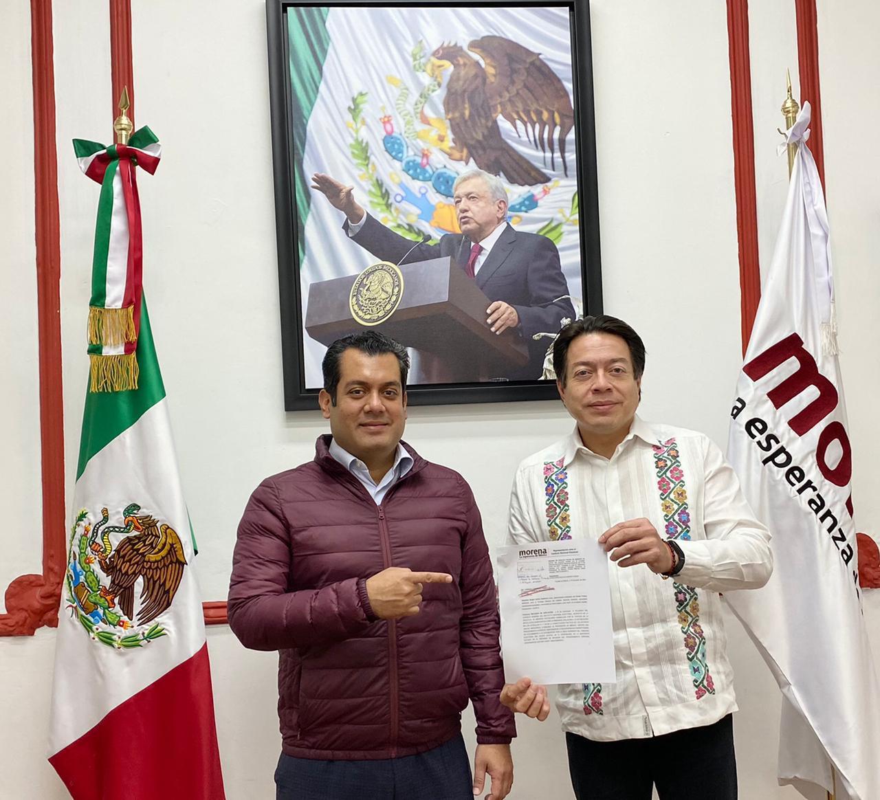 Mario Delgado. MORENA EN DEFENSA DE LA LIBERTAD DE EXPRESION