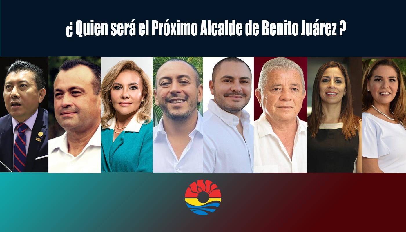 Encuesta de Opinión: ¿Por Quien Votarías? Si hoy fueran elecciones en  Benito Juárez Quintana Roo — Cdmx Press Noticias
