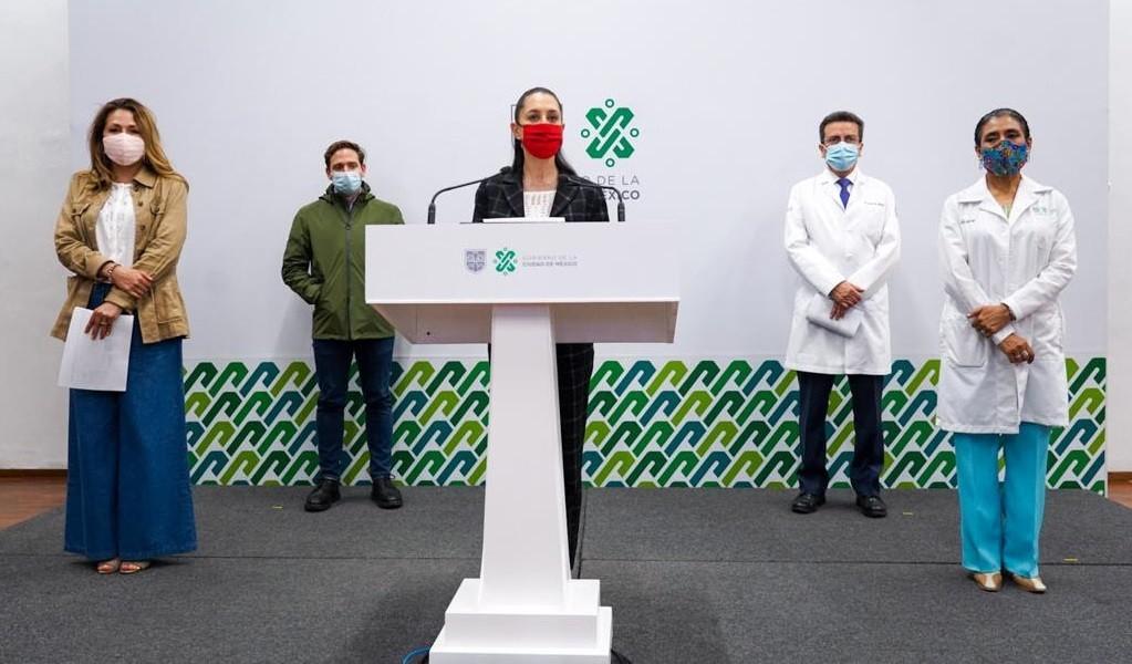 Anuncia Gobierno de la Ciudad de Mexico inicio de vacunacion contra Covid 19 de adultos mayores en Coyoacan y Tlalpan el proximo miercoles