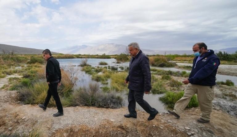 Avanza rescate de humedales y recuperacion de agua en Cuatro Cienegas Coahuila