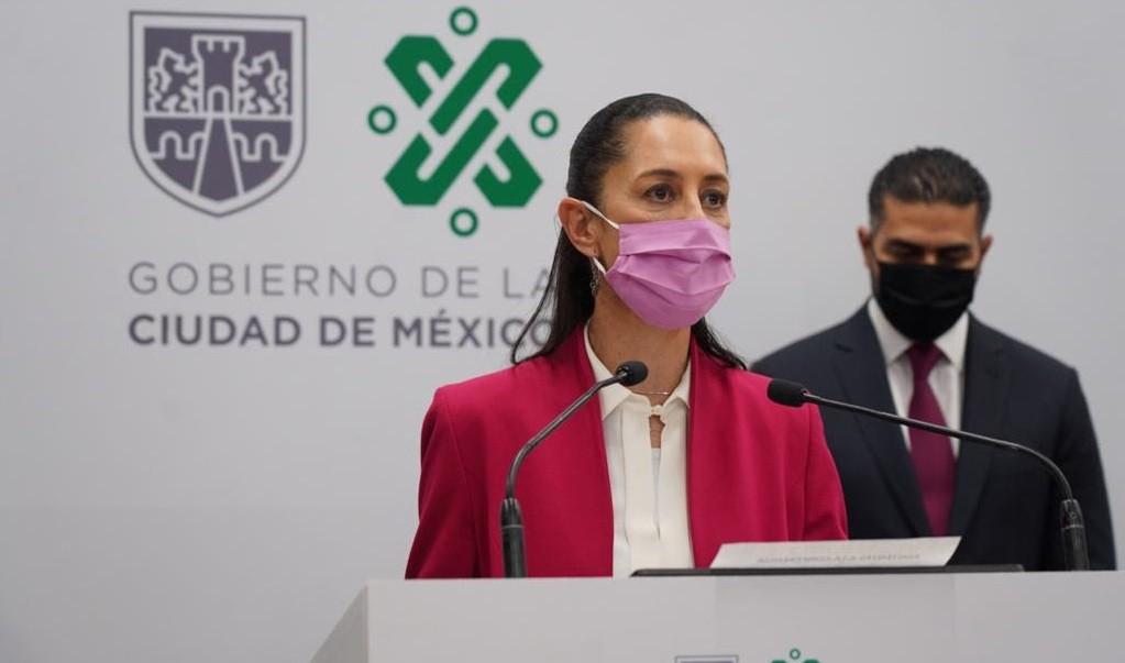 Disminuye en 49.2 por ciento delitos de alto impacto en la Ciudad de Mexico de febrero de 2019 a febrero de 2021
