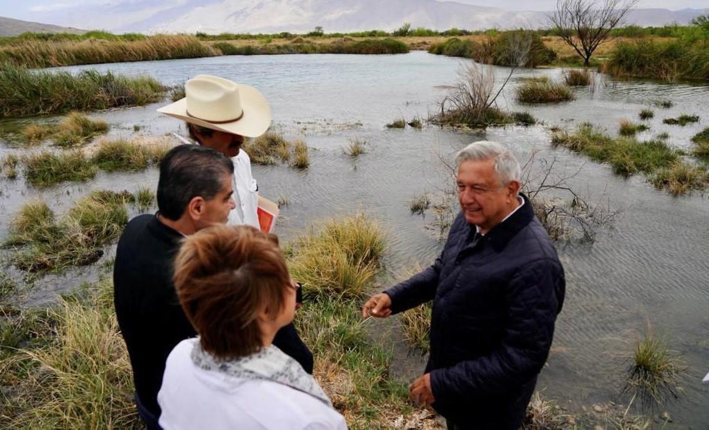 Lopez Obrador llama al uso racional del agua si por la codicia se quiere destruir la naturaleza vamos a poner orden