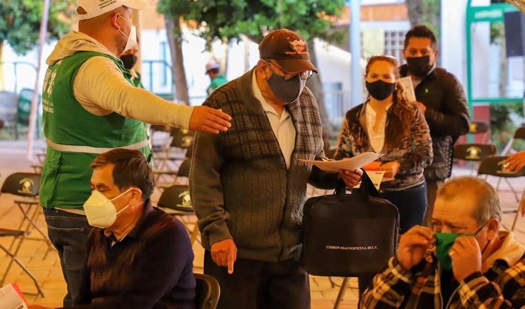 Plan de Vacunacion en Iztacalco Xochimilco y Tlahuac
