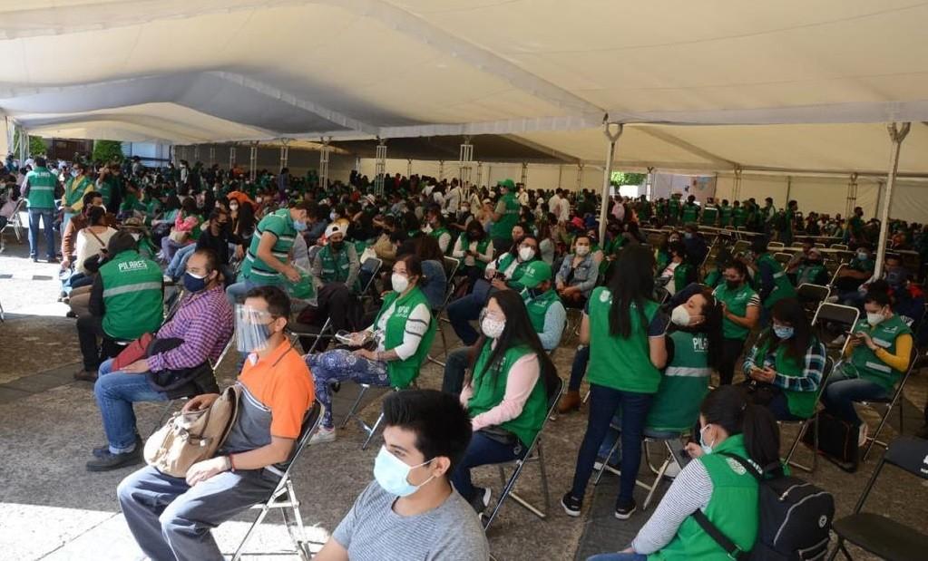 Realizan Gobierno de la Ciudad de Mexico y Gobierno de Mexico simulacro de vacunacion contra Covid 19 en Coyoacan y Tlalpan
