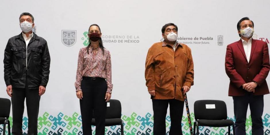 Se suman Ciudad de Mexico Baja California Chiapas Morelos Puebla Tabasco y Veracruz al Acuerdo por la Democracia convocado por el presidente de