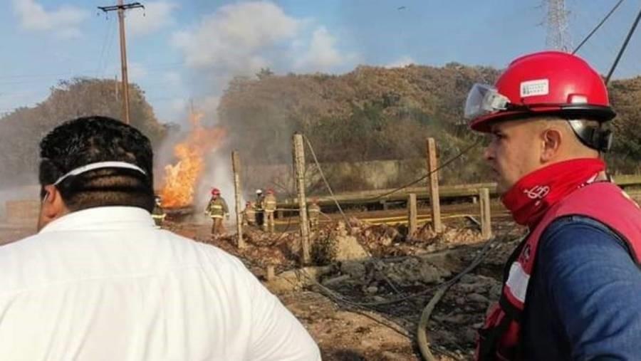 La CFE ha restablecido el suministro electrico al 91 de los usuarios afectados tras el incendio del Complejo Petroquimico Pajaritos en Coatzacoalcos