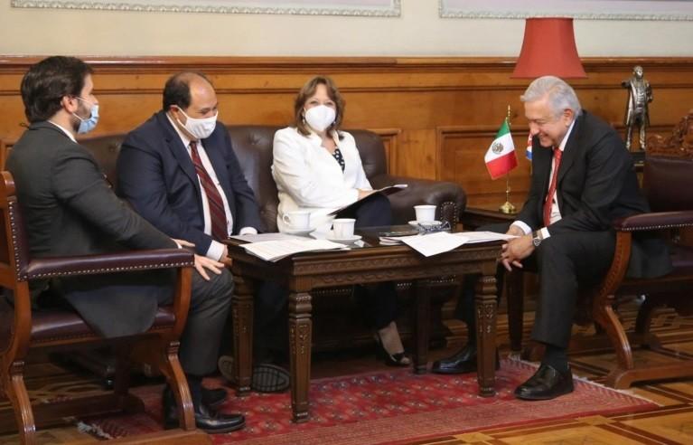 Lopez Obrador agradece al gobierno de Cuba solidaridad con Mexico durante la pandemia de Covid 19