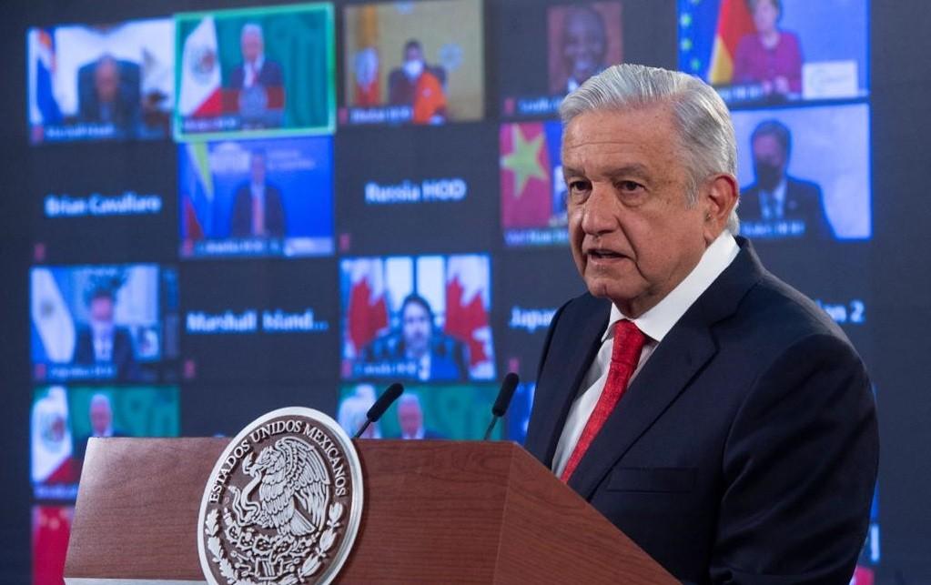 Lopez Obrador expone en Cumbre sobre Cambio Climatico beneficios ambientales de Sembrando Vida propone a EE.UU . apoyar iniciativa en Centroamerica
