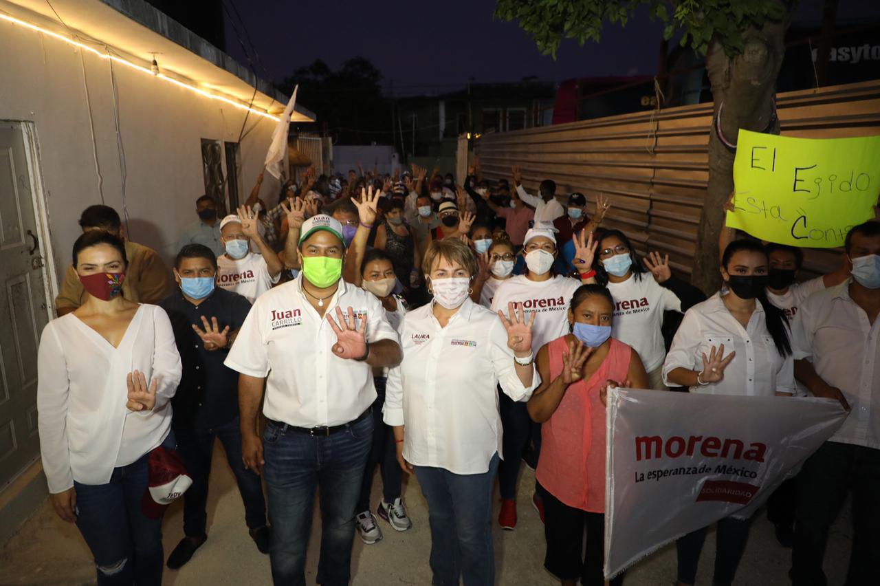 Solidaridad es Morena que no se equivoquen Laura Beristain