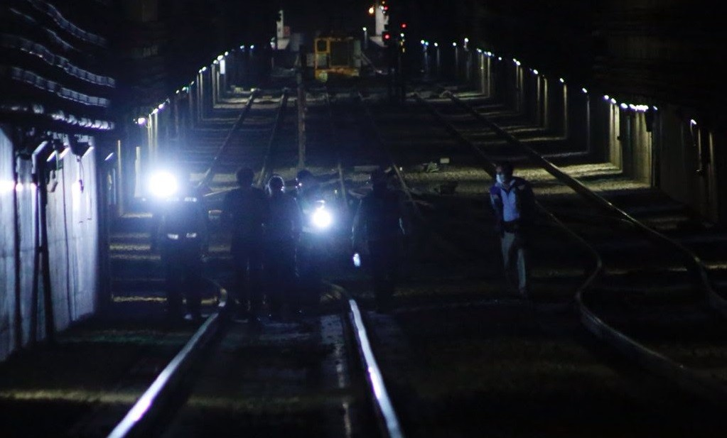 Arranca Gobierno de la Ciudad de Mexico revision del tunel de la Linea 12 del Metro en el tramo Mixcoac Atlalilco