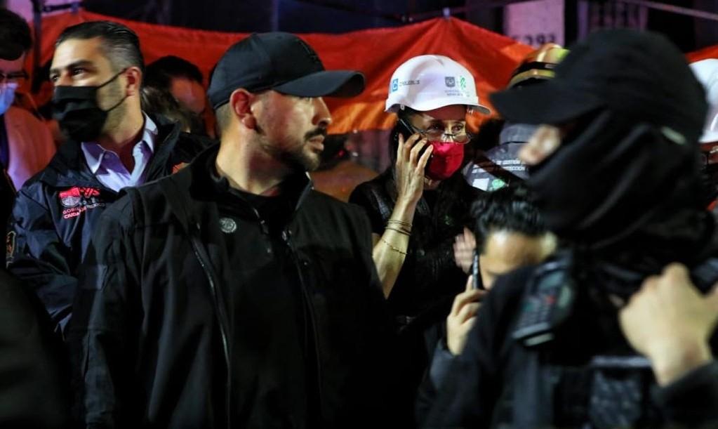 Atiende Gobierno de la Ciudad de Mexico y Gobierno de Mexico incidente en Linea 12 del Metro