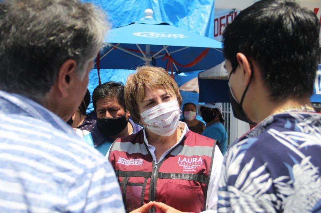 Ciudadanos y con comerciantes quienes reconocieron que el proyecto de Morena en Solidaridad Quintana Roo