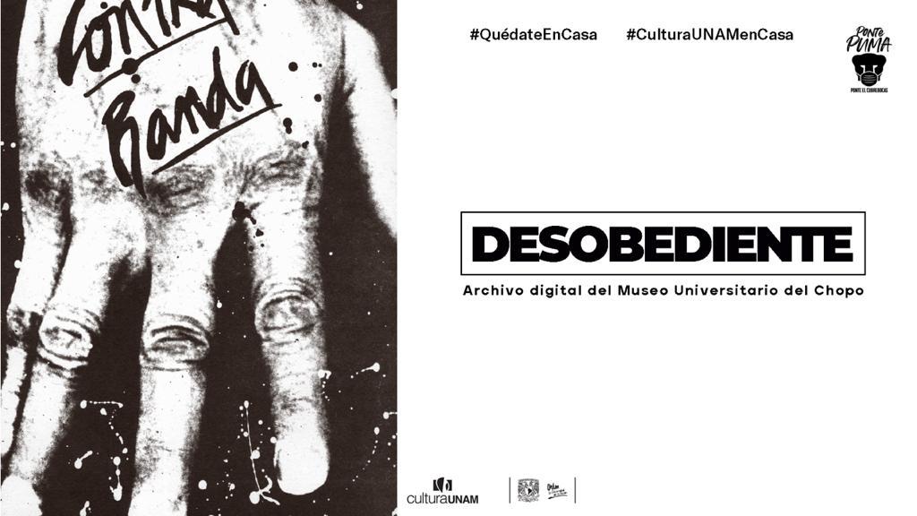 Desobediente repositorio digital que reune parte del acervo documental del Museo Universitario del Chopo
