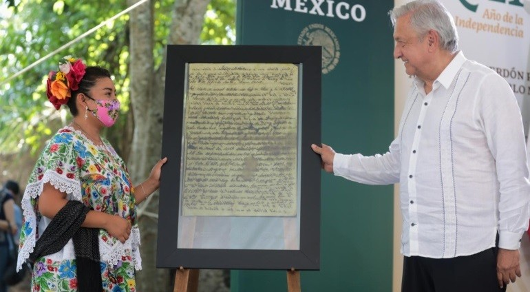 Gobierno de la Cuarta Transformacion ofrece disculpas al pueblo maya en Quintana Roo