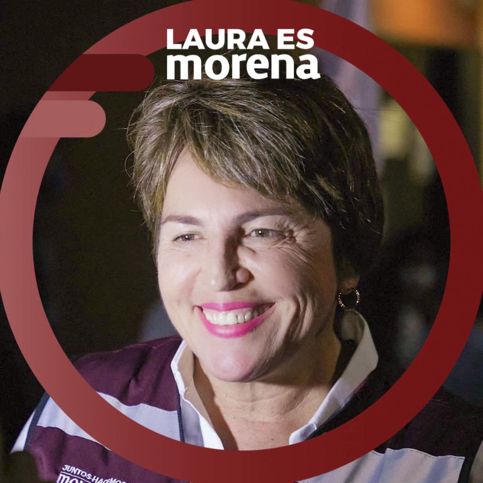 LAURA ES MORENA