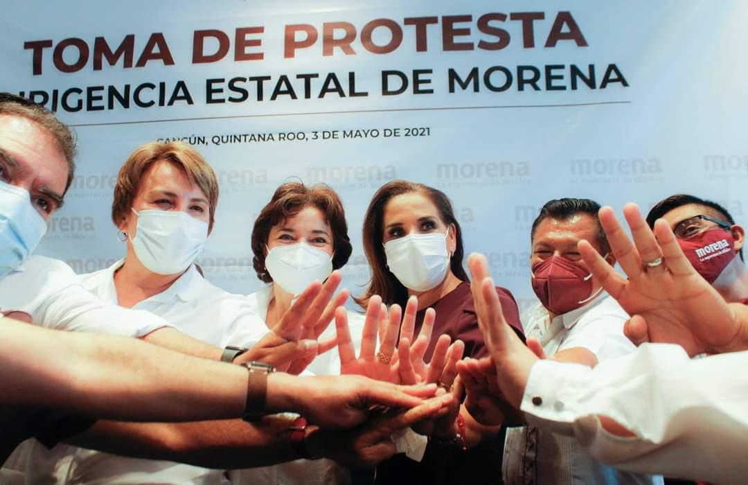 Morena mas Fuerte que nunca en Quintana Roo