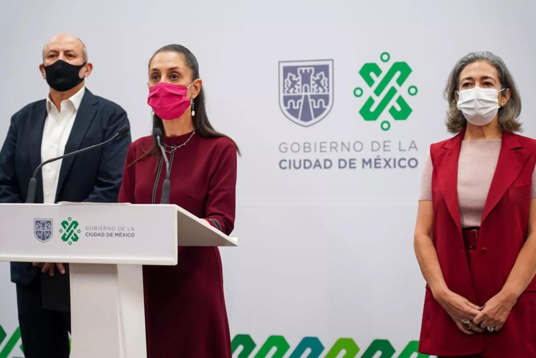 Guillermo Calderon sustituye a Florencia Serrania Claudia Sheinbaum cdmx press