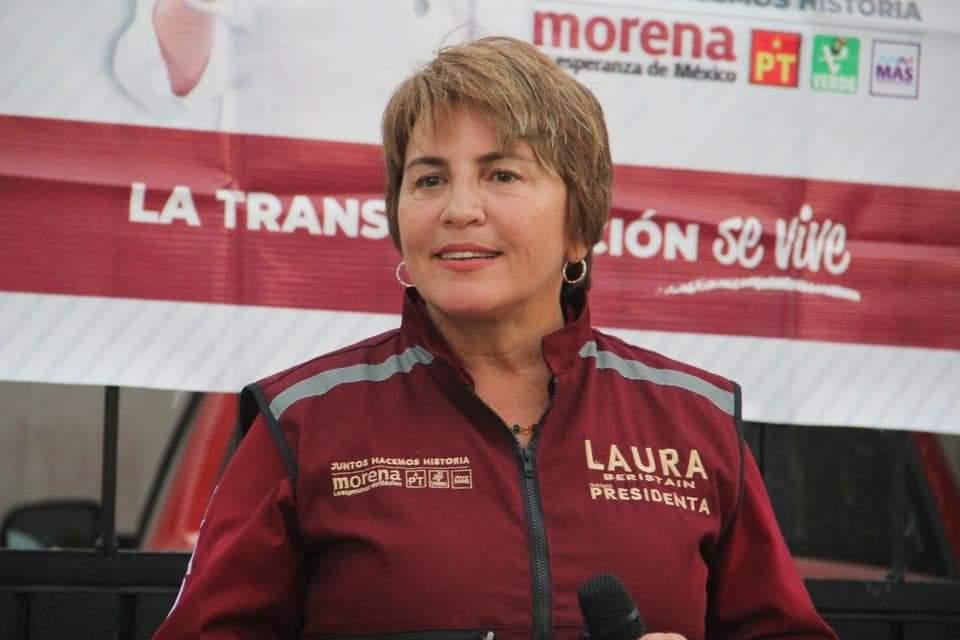 LAURA BERISTAIN NAVARRETE INTERPONE DENUNCIA EN FGR