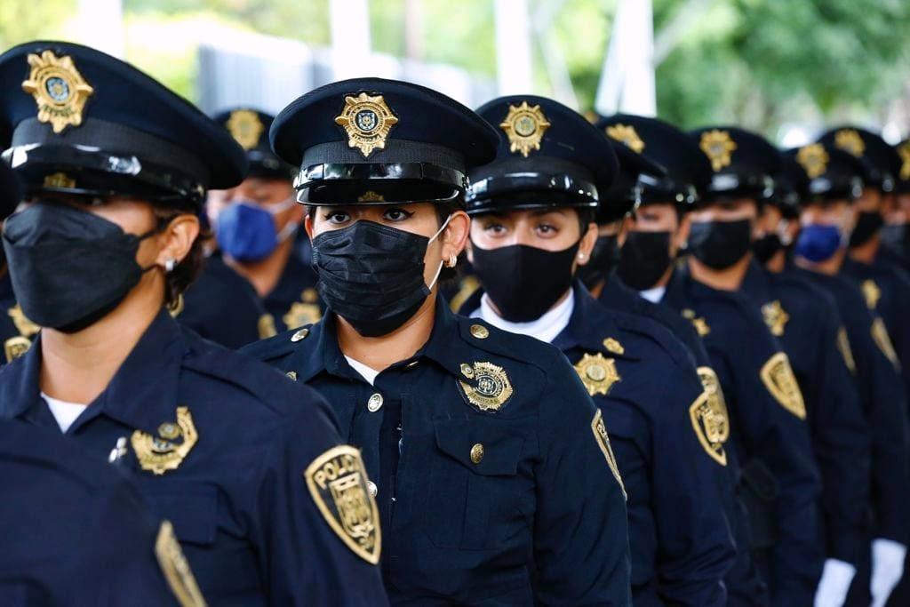PRESENTA GOBIERNO DE CDMX A 100 NUEVOS POLICIAS PARA LA SEGURIDAD CIUDADANA EN IZTAPALAPA