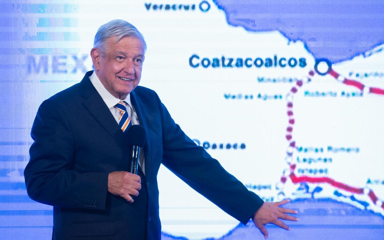Lopez Obrador resalta beneficios del Tren Maya en el sureste del pais no danara el ambiente reafirma
