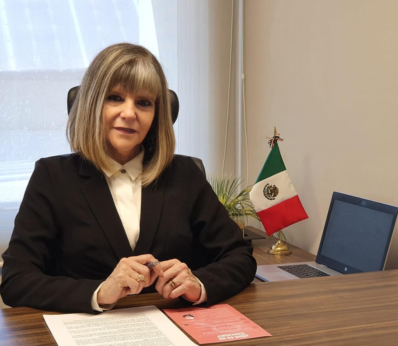 Ma Eugenia Jordan Hortube CDMX PRESS