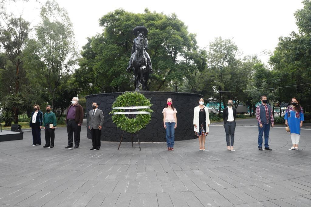 Ceremonia Conmemorativa Del 142 Aniversario Del Natalicio Del General Emiliano Zapata