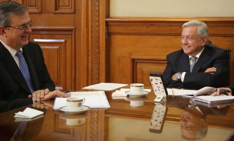 Lopez Obrador mantiene dialogo sobre migracion y control de la pandemia con vicepresidenta Kamala Harris