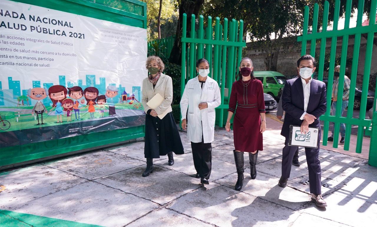 Presenta Gobierno de Cdmx IMSS e ISSSTE El Programa Salud En Tu Vida Salud Para El Bienestar