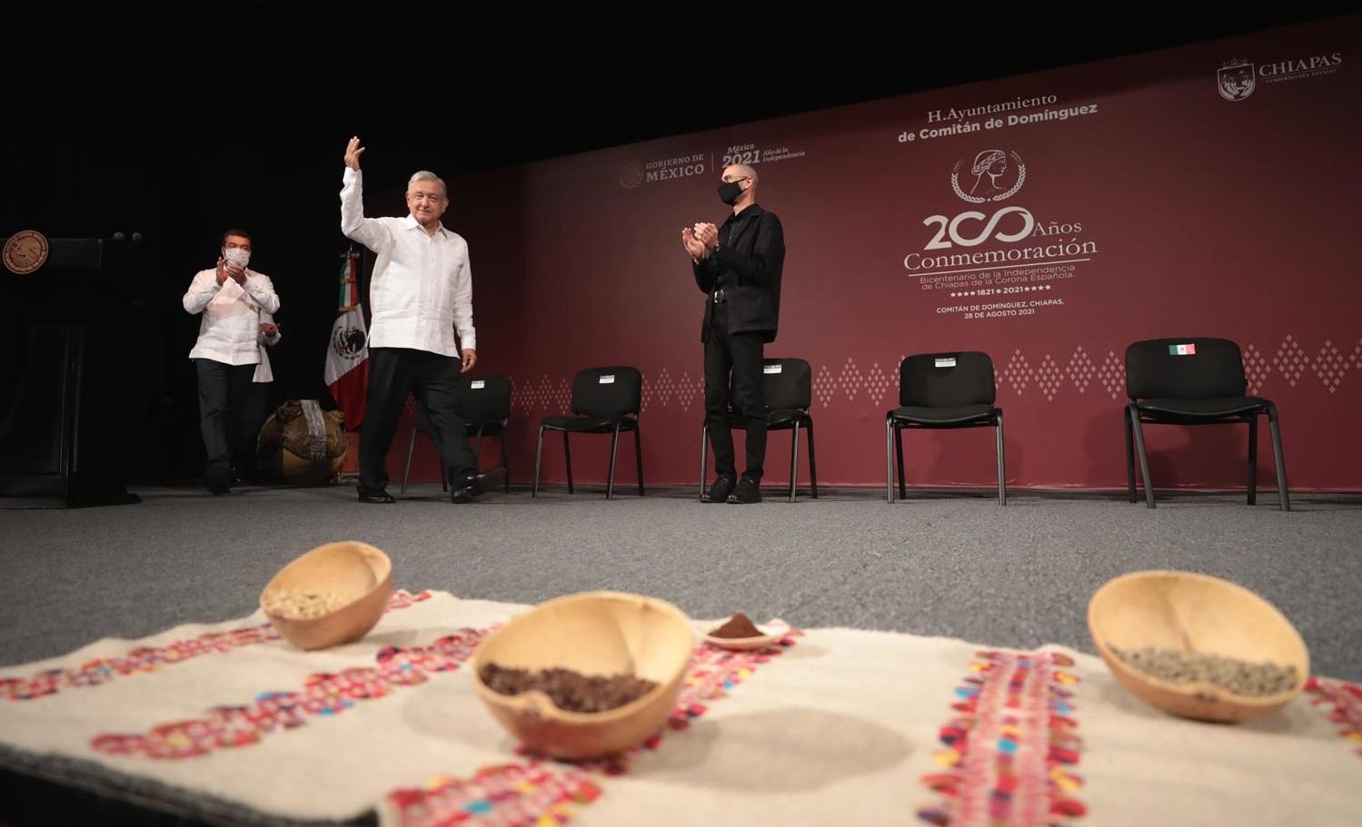 Cuarta Transformacion comprometida a hacer justicia social en Chiapas Lopez Obrador es el estado que recibe mas presupuesto para el bienestar afirma