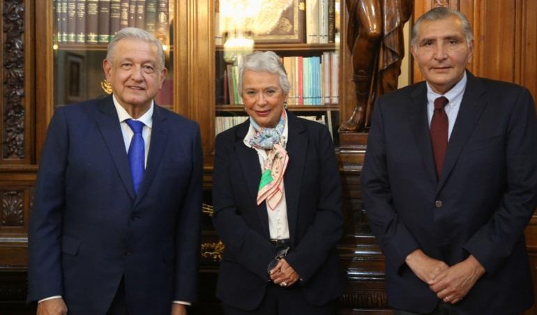 Lopez Obrador anuncia cambio en la titularidad de la Secretaria de Gobernacion