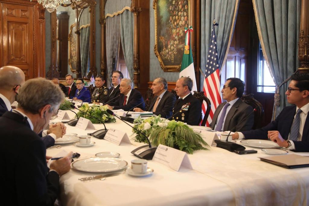 Lopez Obrador se pronuncia por cooperacion para el desarrollo y respeto a las soberanias en Dialogo de Seguridad de Alto Nivel entre Mexico y EE.UU .